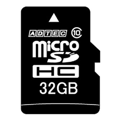 microSDHCカード 8GB Class10 SD変換Adapter付 AD-MRHAM8G/10(FMDI004710)