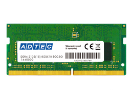 DDR4-2133 SO-DIMM ECC 4GB ADS2133N-E4G(FMDI007559)