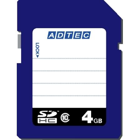SDHCカード 4GB Class10 データ復旧サービス付き AD-SDTH4G/10(FMDI004510)