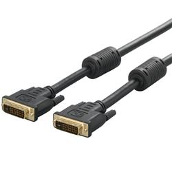 BUFFALO ディスプレイケーブル DVI-D:DVI-D デュアルリンク対応 1.5m BSDCDD15(FMDI005563)
