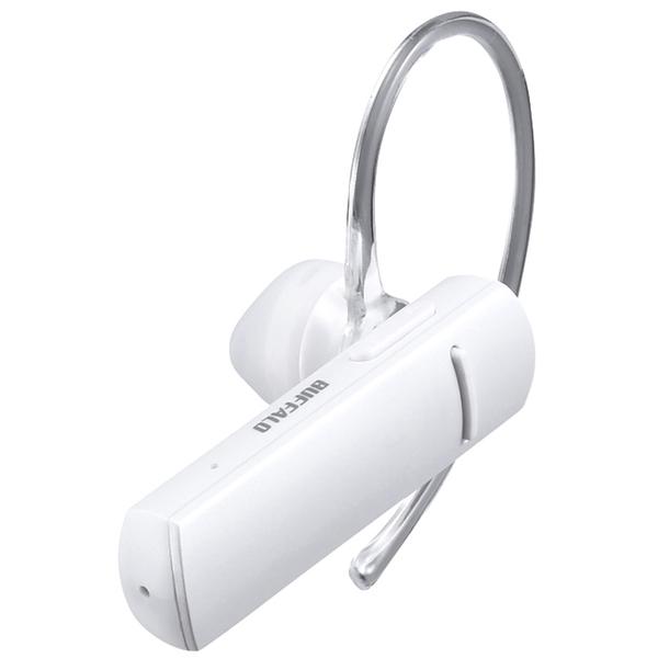 Bluetooth4.1対応 片耳ヘッドセット ホワイト BSHSBE200WH(FMDI009004)