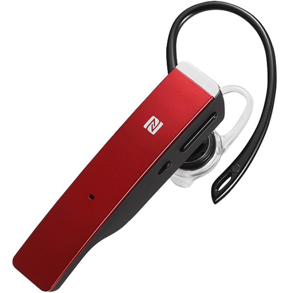 Bluetooth4.1対応 2マイクヘッドセット メタルアンテナ搭載&NFC対応モデル レッド BSHSBE500RD(FMDI009008)