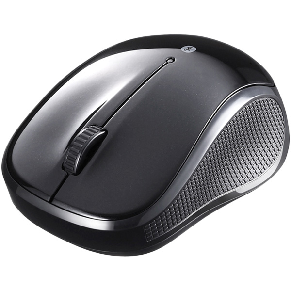 Bluetooth3.0対応 BlueLED光学式マウス 静音/3ボタン ブラック BSMBB100BK(FMDI008812)