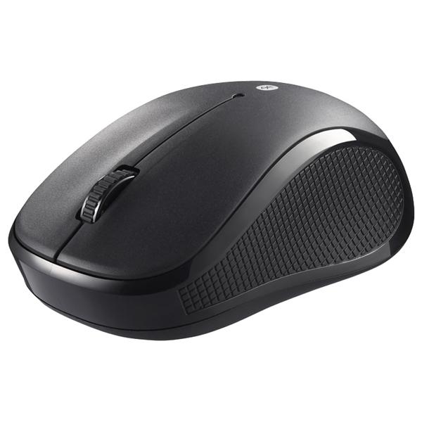 Bluetooth3.0 BlueLEDマウス 静音/3ボタン ブラック BSMBB21SBK(FMDI004982)