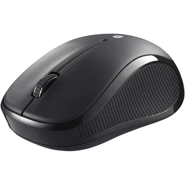 Bluetooth3.0対応 IR LED光学式マウス 3ボタンタイプ ブラック BSMRB050BK(FMDI008827)