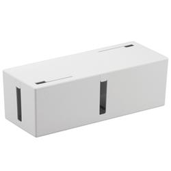 ケーブルボックス 電源タップ&ケーブル収容 Lサイズ ホワイト BSTB01LWH(FMDI002051)