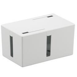 ケーブルボックス 電源タップ&ケーブル収容 Sサイズ ホワイト BSTB01SWH(FMDI002053)