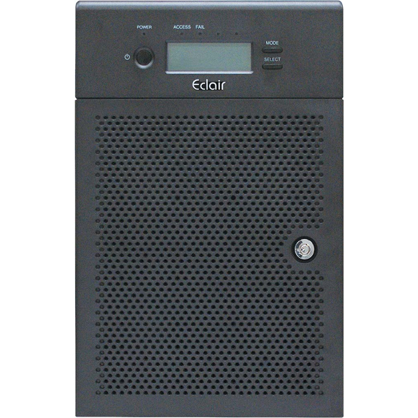 EP106TB3シリーズ 3インターフェースRAID(Thunderbolt3+USB3.0+eSATA) 総容量8TB(2TB×4) EP106TB3-2T04(FMDI012187)