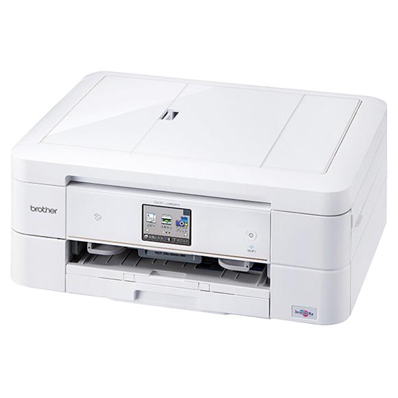 A4インクジェット複合機/両面印刷/有線・無線LAN/手差し/レーベル印刷 DCP-J968N-W(FMDI005811)