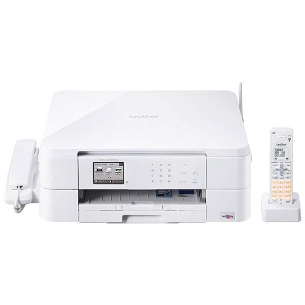 A4インクジェット複合機/FAX/6/12ipm/デジタル子機1台/無線LAN MFC-J737DN(FMDI006664)