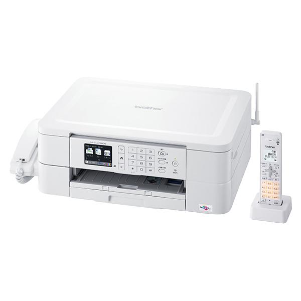 A4インクジェット複合機/FAX/受話器/デジタル子機1台/無線LAN/手差しトレイ MFC-J738DN(FMDI013504)