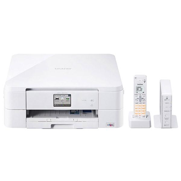A4インクジェット複合機/FAX/10/12ipm/デジタル子機1台/無線LAN MFC-J837DN(FMDI006666)