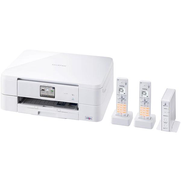 A4インクジェット複合機/FAX/10/12ipm/デジタル子機2台/無線LAN MFC-J837DWN(FMDI006667)