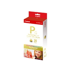 イージーフォトパック E-P20G(ポストカードサイズ・金印刷対応/20枚分)(FMDI000516)