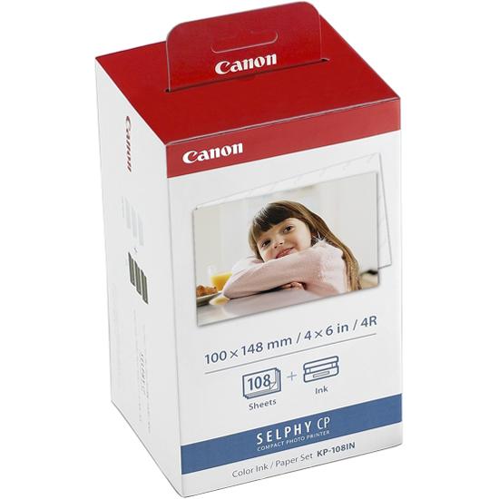 カラーインクカセット/ペーパーセット KP-108IN 3115B001(FMDI011229)