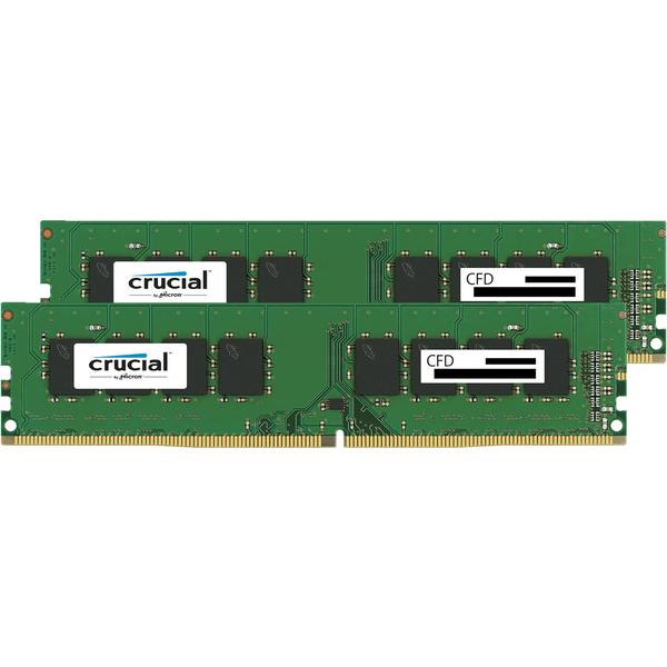 PC4-19200(DDR4-2400) 8GBx2枚 288pin UDIMM(無期限保証) 型番:W4U2400CM-8G(FMDI010951)