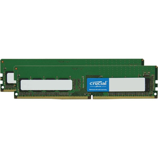 PC4-21300(DDR4-2666) 8GB×2枚組 288pin DIMM (無期限保証)(Crucial by Micron) 型番:W4U2666CM-8G(FMDI011054)