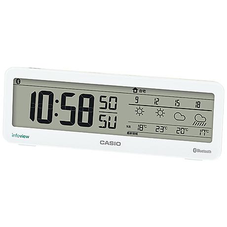 お天気情報お知らせクロック DWS-200J-7JF(FMDI006326)