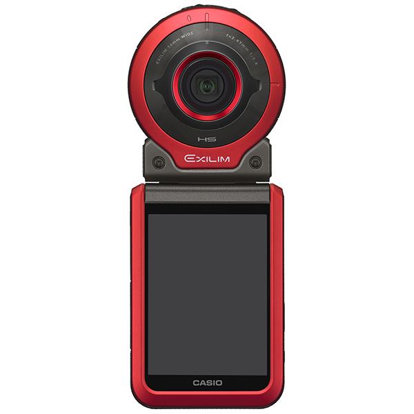 デジタルカメラ FREE STYLE EXILIM EX-FR100 レッド EX-FR100RD(FMDI006880)