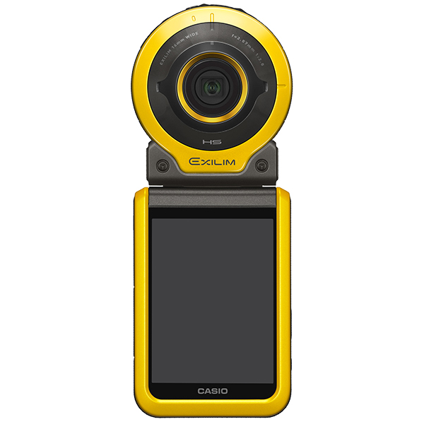 デジタルカメラ FREE STYLE EXILIM EX-FR100 イエロー EX-FR100YW(FMDI006882)