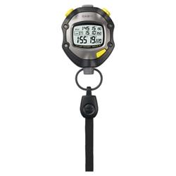 ストップウォッチ 1/1000秒計測 10時間計 5気圧防水 HS-70W-1JH(FMDI007088)