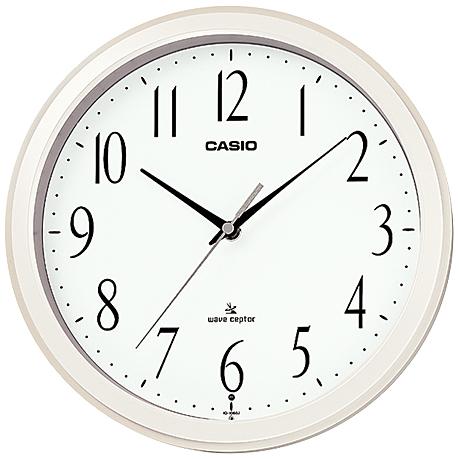 電波壁掛け時計 プラ枠 IQ-1060J-7JF(FMDI007089)
