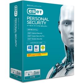 ESET パーソナル セキュリティ 1年版 CITS-ES10-001(FMDIS01027)
