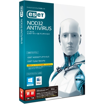 ESET NOD32�A���`�E�C���X Windows/Mac�Ή� �X�V�p CITS-ND07-002(FMDIS00530)