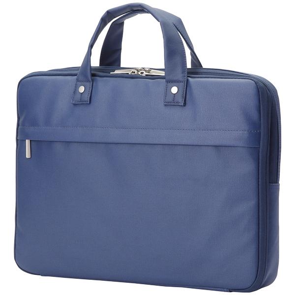 キャリングバッグ/薄型カジュアル/15.6インチ/ブルー BM-CB02BU(FMDI005911)