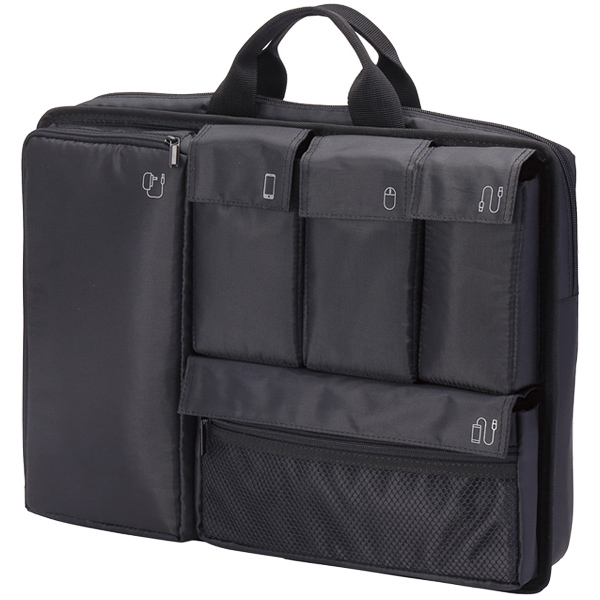 PC用インナーバッグ/分離型/15.6インチ/ブラック BM-IBSP15BK(FMDI005924)