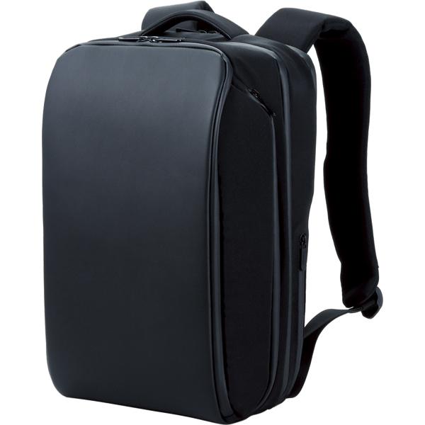 """PCバックパック/4気室モデル""""Ruminant""""/撥水生地/USB充電ポート付/15.6inch/ブラック BM-RNBP01BK(FMDI010305)"""