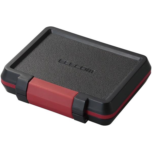 メモリカードケース/ハード/SD8枚+microSD8枚収納/ブラック CMC-SDCHD01BK(FMDI009061)