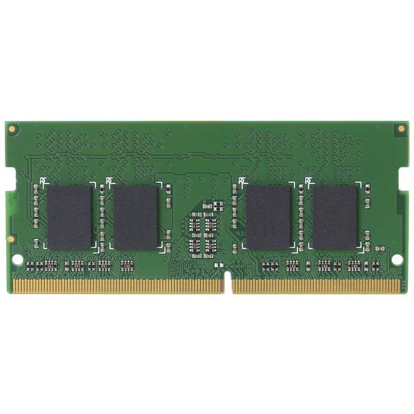 EU RoHS指令準拠メモリモジュール/DDR4-SDRAM/S.O.DIMM/PC4-19200/4GB EW2400-N4G/RO(FMDI007608)
