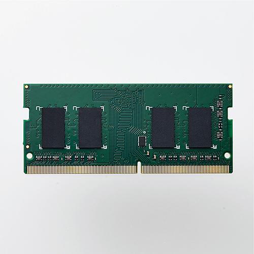 EU RoHS指令準拠メモリモジュール/DDR4-SDRAM/DDR4-2666/SO-DIMM/PC4-21300/4GB(FMDI014026)