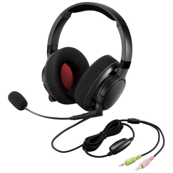 4極ヘッドセットマイクロフォン/MMOゲーミング/DUXシリーズ/ブラック HS-DUX50BK(FMDI013442)