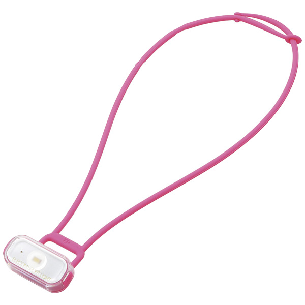 LEDハンズフリーライト/ウォーキング用/ピンク LEF-RW01WPN(FMDI006352)