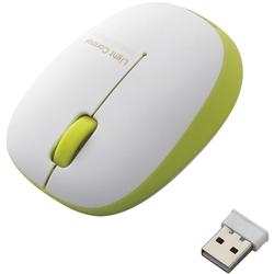 ワイヤレスBlueLEDマウス/3ボタン/グリーン M-BL20DBGN(FMDI008089)