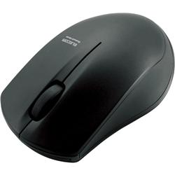 IRマウス/M-BT12BRシリーズ/Bluetooth3.0/3ボタン/省電力/ブラック M-BT12BRBK(FMDI004989)