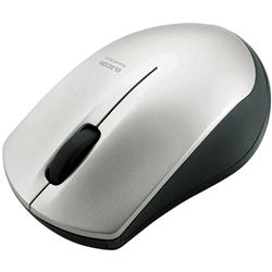 IRマウス/M-BT12BRシリーズ/Bluetooth3.0/3ボタン/省電力/シルバー M-BT12BRSV(FMDI004993)