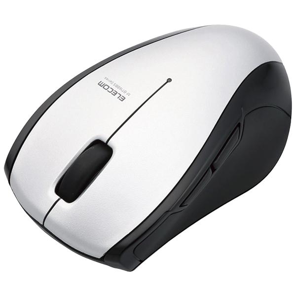 BlueLEDマウス/M-BT16シリーズ/Bluetooth3.0/5ボタン/シルバー M-BT16BBSSV(FMDI005002)