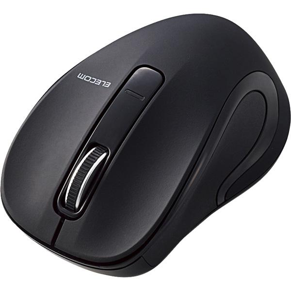 BlueLEDマウス/Salalシリーズ/Sサイズ/Bluetooth/3ボタン/ブラック M-BT17BBBK(FMDI008540)