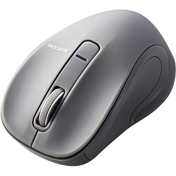 BlueLEDマウス/Salalシリーズ/Sサイズ/Bluetooth/3ボタン/グレー M-BT17BBGY(FMDI008541)