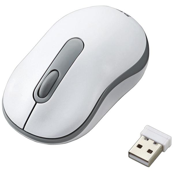無線マウス/光学式/Sサイズ/ホワイト M-DY10DRWH(FMDI006786)