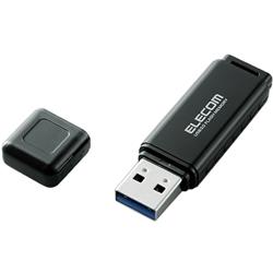 セキュリティソフト対応 バリュータイプUSB3.0メモリ/8GB/ブラック MF-HSU3A08GBK(FMDI003699)
