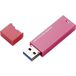 セキュリティソフト対応 シンプルUSB3.0メモリ/4GB/ピンク MF-MSU3A04GPN(FMDI002282)
