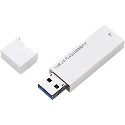 セキュリティソフト対応 シンプルUSB3.0メモリ/8GB/ホワイト MF-MSU3A08GWH(FMDI002287)