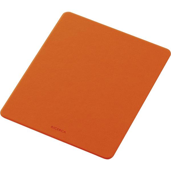 マウスパッド/イタリアンソフトレザー/片面/オレンジ MP-ELNSDR(FMDI009095)
