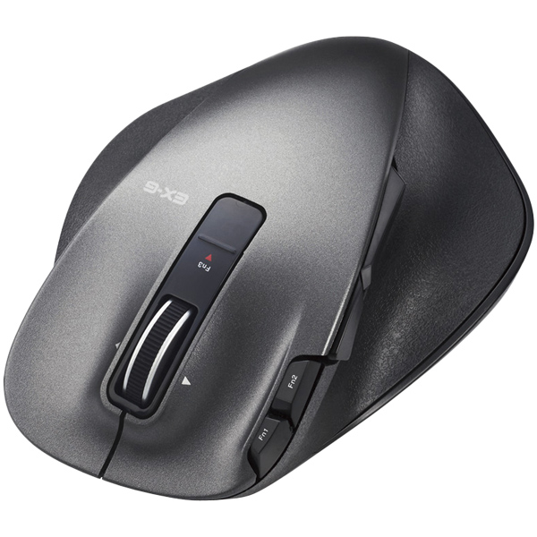 ULTIMATE LASERマウス/握りの極み/Lサイズ/無線/2.4GHz/8ボタン+チルト/ブラック M-XGL20DLBK(FMDI008099)
