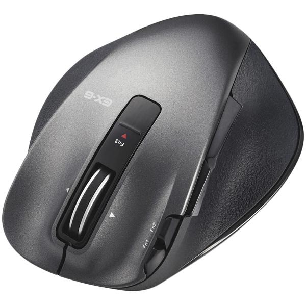 ULTIMATE LASERマウス/握りの極み/Sサイズ/無線/2.4GHz/8ボタン+チルト/ブラック M-XGS20DLBK(FMDI008101)