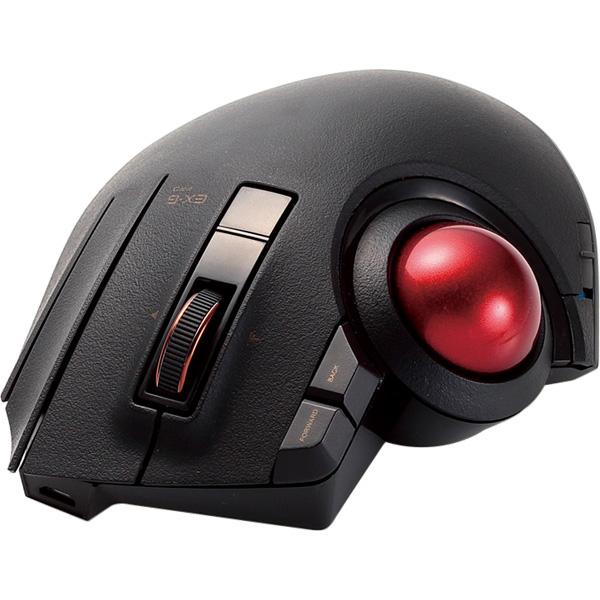 トラックボールマウス/親指/8ボタン/チルト機能/有線/無線/Bluetooth/ブラック M-XPT1MRBK(FMDI013446)